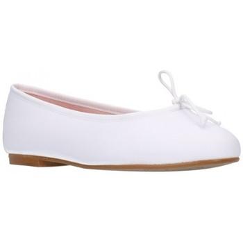 Zapatos Mujer Bailarinas-manoletinas Euforia EMMA Mestizo Blanco Mujer Blanco blanc
