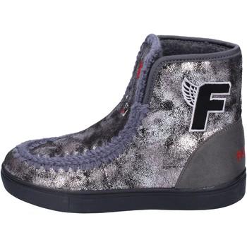Zapatos Niña Botines Fiorucci botines cuero sintético gris