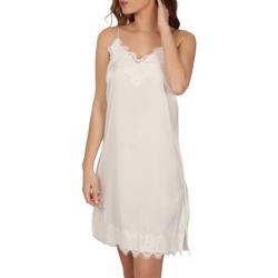 textil Mujer Pijama Admas Babydoll Soft Crepe blanco Blanco