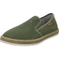 Zapatos Hombre Slip on Rieker B527654 Verdes