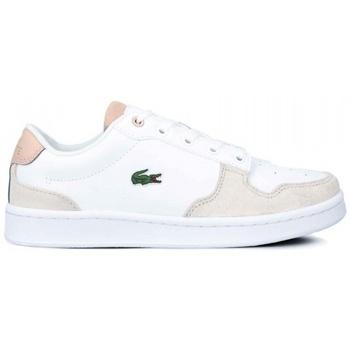 Zapatos Mujer Zapatillas bajas Lacoste ZAPATILLA  MASTERS CUP 120 Blanco