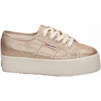 Zapatos Mujer Zapatillas bajas Superga 2790-LAMEW 941-rose-platinum