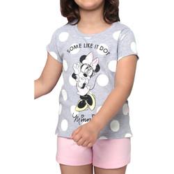 textil Mujer Pijama Admas Camiseta de pijama Minnie Dots Disney gris Gris Claro