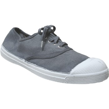 Zapatos Mujer Zapatillas bajas Bensimon Tennis lacets Lienzo gris