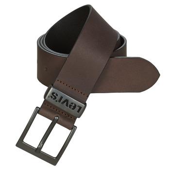 Accesorios textil Hombre Cinturones Levi's ASHLAND METAL Marrón