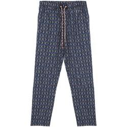 textil Hombre Pijama Madson | Pantalone Stampato, Blu | MDS_DU20038 P10 bleu
