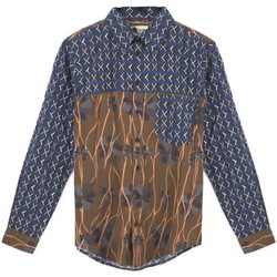 textil Hombre camisas manga larga Madson | Camisa impresa doble, multiple | MDS_DU20048 C.2 Multicolor