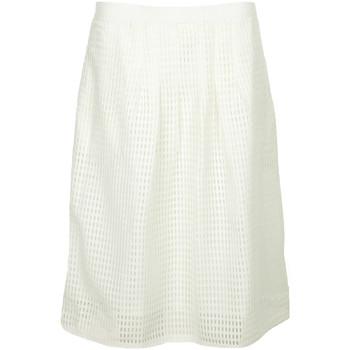 textil Mujer Faldas Paul Smith Jupe courte ajourée Blanco