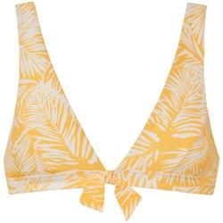 textil Mujer Bañador por piezas Beachlife Palm Glow  triángulo de traje baño sin armazón Caqui