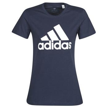 textil Mujer Camisetas manga corta adidas Performance W BOS CO TEE Azul