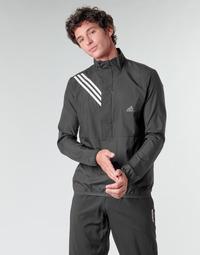 textil Hombre Sudaderas adidas Performance OWN THE RUN JKT Negro