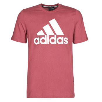 textil Hombre Camisetas manga corta adidas Performance MH BOS Tee Rojo / Heritage