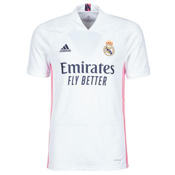 textil Camisetas manga corta adidas Performance REAL H JSY Blanco