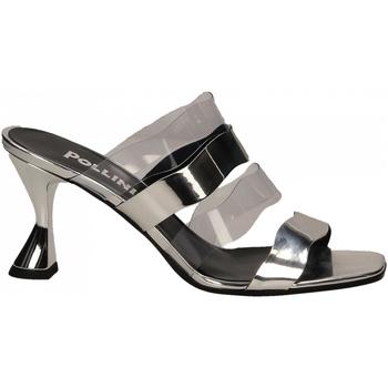 Zapatos Mujer Sandalias Pollini Silver POLLINI SE54 argento