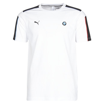 textil Hombre camisetas manga corta Puma BMW MMS MS T7 TEE Blanco