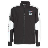 textil Hombre chaquetas de deporte Puma BMW MMS WVN JACKET F Negro / Gris / Blanco
