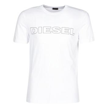 textil Hombre camisetas manga corta Diesel JAKE Blanco