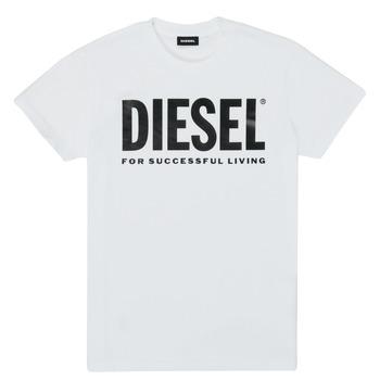 textil Niños Camisetas manga corta Diesel TJUSTLOGO Blanco