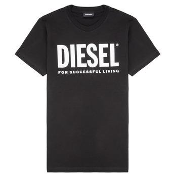 textil Niños Camisetas manga corta Diesel TJUSTLOGO Negro