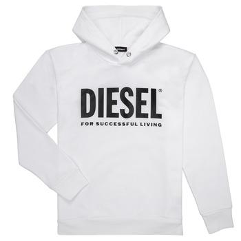 textil Niño Sudaderas Diesel SDIVISION LOGO Blanco