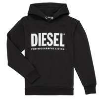 textil Niño sudaderas Diesel SDIVISION LOGO Negro