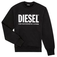 textil Niño sudaderas Diesel SCREWDIVISION LOGO Negro