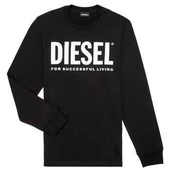 textil Niño Camisetas manga larga Diesel TJUSTLOGO ML Negro