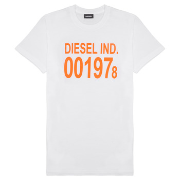 textil Niños Camisetas manga corta Diesel TDIEGO1978 Blanco