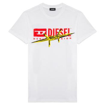 textil Niño camisetas manga corta Diesel TDIEGOBX2 Blanco