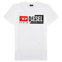 textil Niños Camisetas manga corta Diesel TDIEGOCUTY Blanco