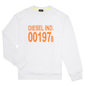 textil Niños sudaderas Diesel SGIRKJ3 Blanco