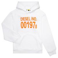 textil Niños sudaderas Diesel SGIRKHOOD Blanco