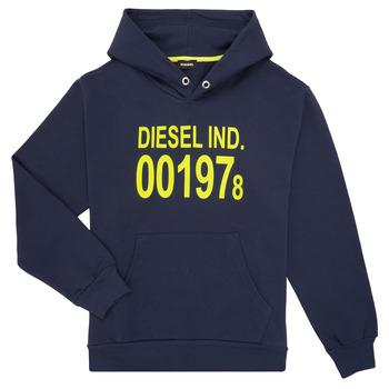 textil Niños sudaderas Diesel SGIRKHOOD Azul