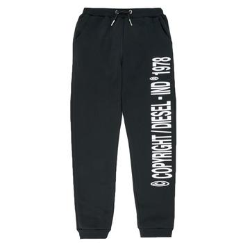 textil Niño Pantalones de chándal Diesel PLAMPCOPY Negro