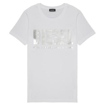 textil Niña Camisetas manga corta Diesel TSILYWX Blanco