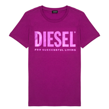 textil Niña Camisetas manga corta Diesel TSILYWX Rosa