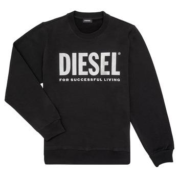 textil Niña Sudaderas Diesel SANGWX Negro