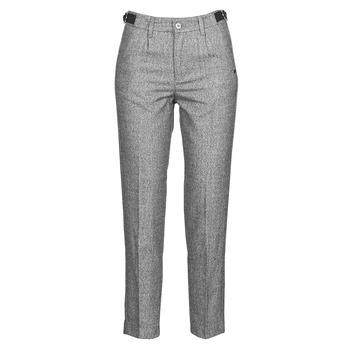 textil Mujer Pantalones con 5 bolsillos Freeman T.Porter SHELBY MOKKA Gris / Claro