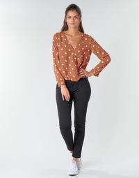 textil Mujer Pantalones con 5 bolsillos Freeman T.Porter ALEXA CROPPED S-SDM Negro