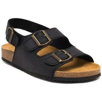 Zapatos Hombre Sandalias Morxiva Shoes Sandalias Bio de hombre de piel by Morxiva Noir