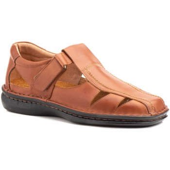 Zapatos Hombre Sandalias Cactus Calzados Sandalias de hombre de piel by Cactus Marron
