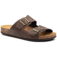 Zapatos Hombre Zuecos (Mules) Morxiva Shoes Sandalias Bio de hombre de piel by Morxiva Marron