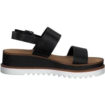 Zapatos Mujer Sandalias Tamaris SANDALIA  PLATAFORMA TIRA TRASERA Negro