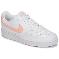 Zapatos Mujer Zapatillas bajas Nike COURT VISION LOW Blanco / Rosa