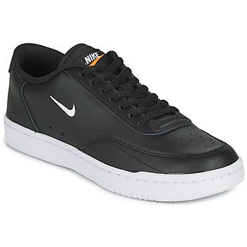 Zapatos Mujer Zapatillas bajas Nike COURT VINTAGE Negro / Blanco