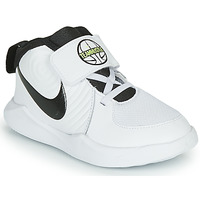 Zapatos Niño Baloncesto Nike TEAM HUSTLE D 9 TD Blanco / Negro