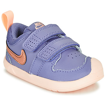 Zapatos Niña Zapatillas bajas Nike PICO 5 TD Violeta / Rosa