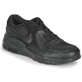 Zapatos Niños Zapatillas bajas Nike AIR MAX EXEE PS Negro