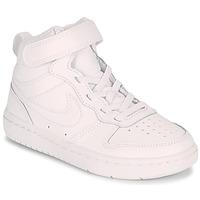 Zapatos Niños Zapatillas altas Nike COURT BOROUGH MID 2 PS Blanco