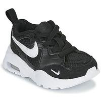Zapatos Niños Zapatillas bajas Nike AIR MAX FUSION TD Negro / Blanco
